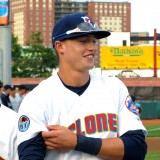 Brandon Nimmo Makes Brooklyn Cyclones Debut