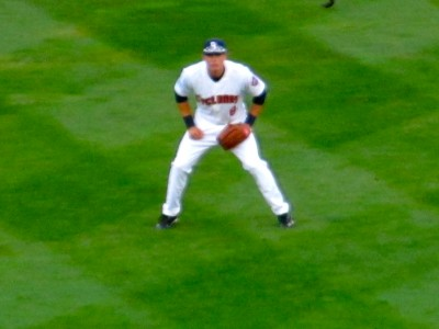 Nimmo's ready position (Photo by Jim Mancari)