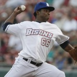 Mejia Pitches Well, Bisons Come Away With 9-3 Victory