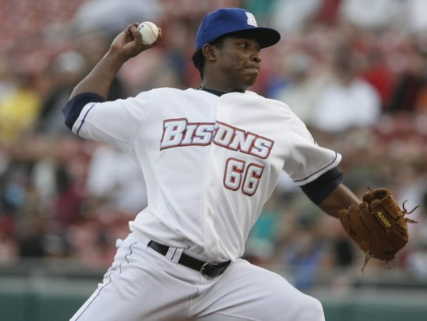 Mejia Dominates As Bisons Bullpen Holds Off Iron Pigs 4-2