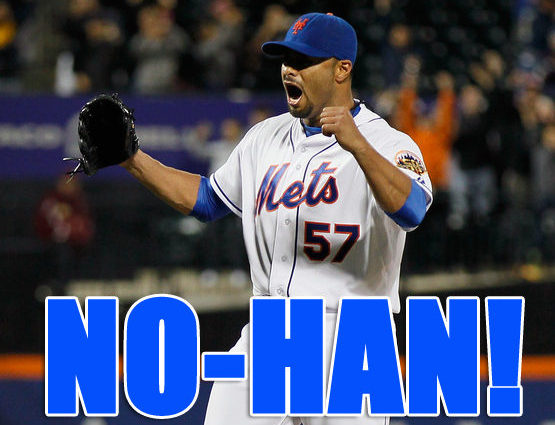 quality design 0614f 73e59 Mets Flashback: Johan Santana Tosses First Mets No-Hitter ...