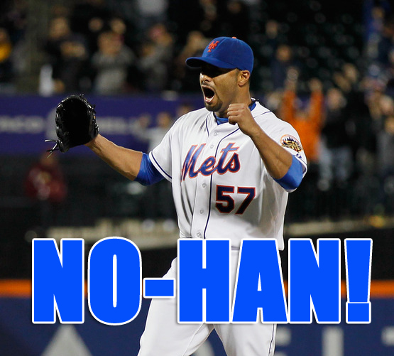 MMO Flashback: NO-HAN!!! SANTANA TOSSES METS FIRST NO-HITTER!!!
