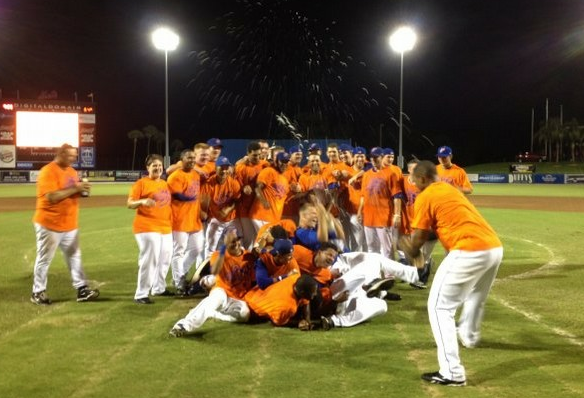 The 2012 First-Half Division Champion: St. Lucie Mets