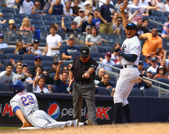 Yankees Complete Sweep Of The Not So Amazin' Mets