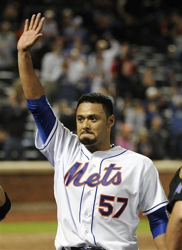 Going Out In Style: Johan Santana Issues Statement To Thank Met Fans