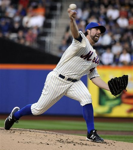 Dickey Hurls Second Straight One-Hitter And Sets History In Mets 5-0 Win