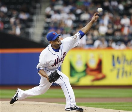 Santana Gives Mets A Sigh Of Relief