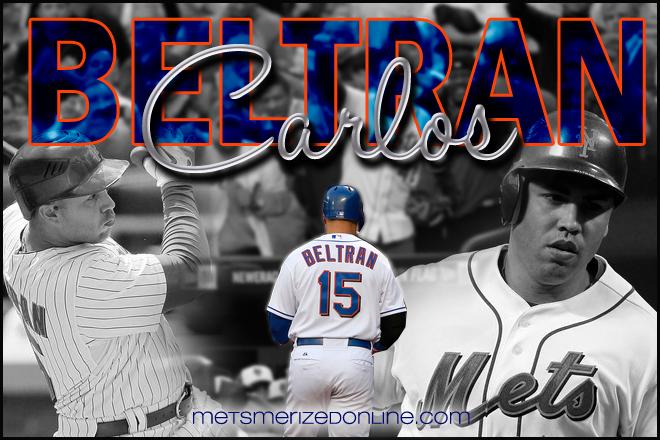 Welcome Back Carlos Beltran!