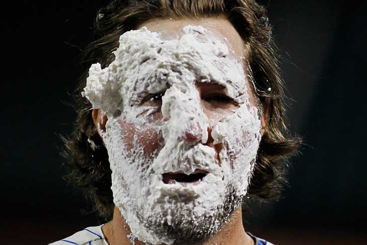 Mets Matters: Enough With The Whipped Cream Pies, Of Course Dickey Should Start ASG