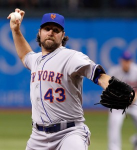 r.a. dickey one-hitter