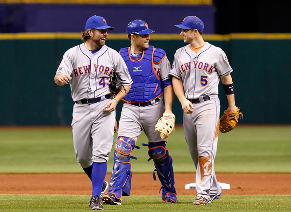 r.a. dickey one-hitter david wright mike nickeas