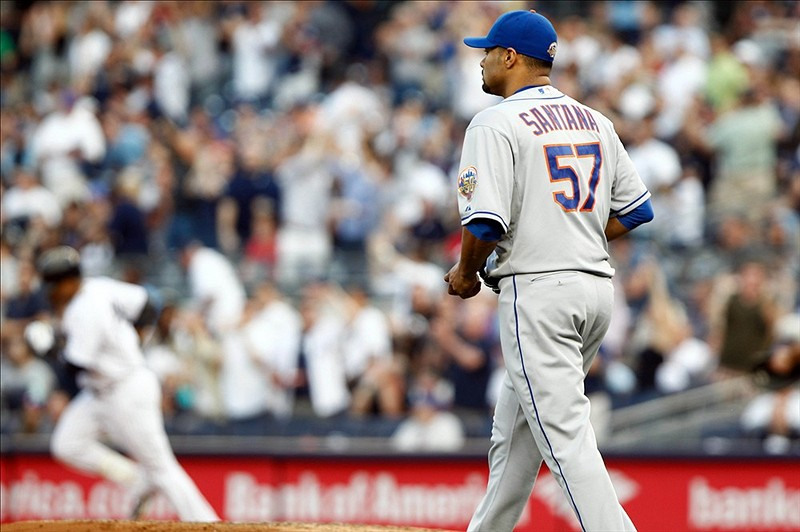 Yankees Jump All Over Johan In Mets 9-1 Loss
