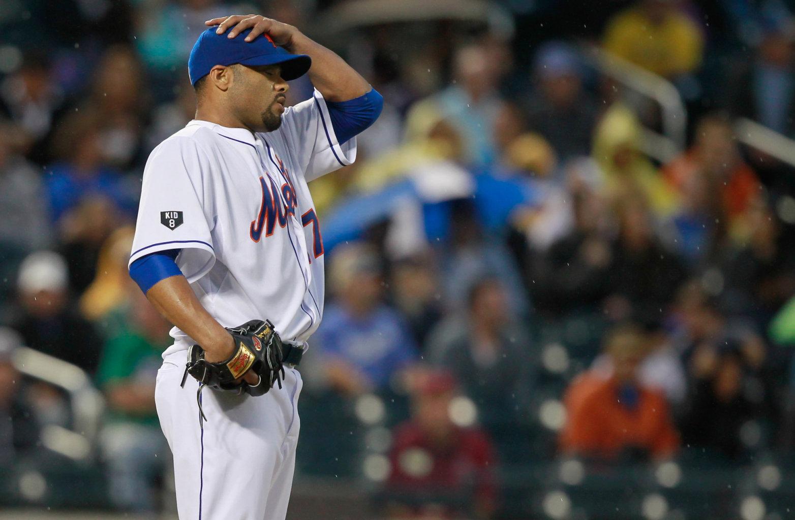 Oh-No-Han! Santana Shelled, But Despite Late Rally Mets Fall 7-6 To Dodgers