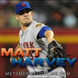 Dazzling Debut: Harvey Strikes Out 11 To Set New Mets Franchise Record