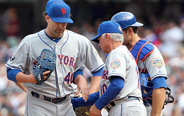 Backup Catcher Seems To Be Least Of Mets Concerns