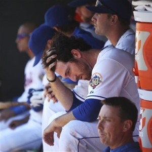 mets sad bench