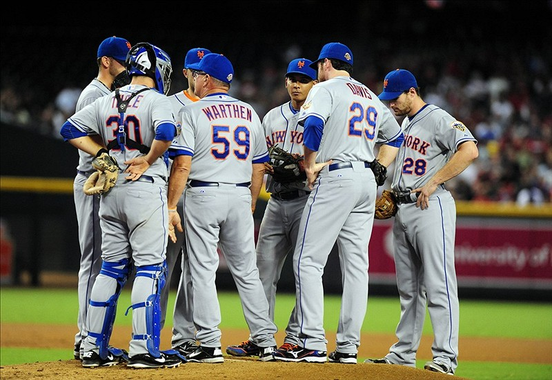 Niese Shelled As Mets Stumble 11-5 To D-Backs