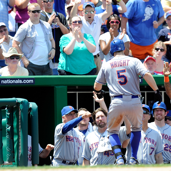 Mets Pummel Nats Early, Survive Late To Avoid Sweep 9-5