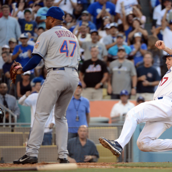 Dodgers Take Advantage Of Mets' NL Worst Defense To Avoid Sweep