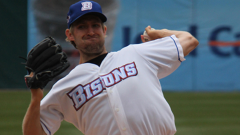 Garrett Olson's Gem Wasted In Bisons 2-0 Loss