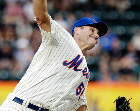 2012 Mets Player Review: Chris Young, RHP