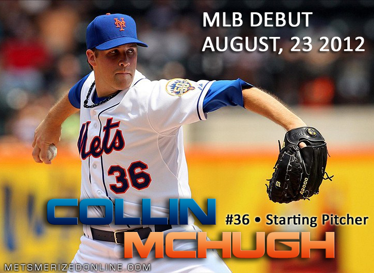 Collin McHugh MLB Debut