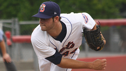 Mazzoni Solid, But B-Mets Offense Absent In 4-0 Loss To Richmond