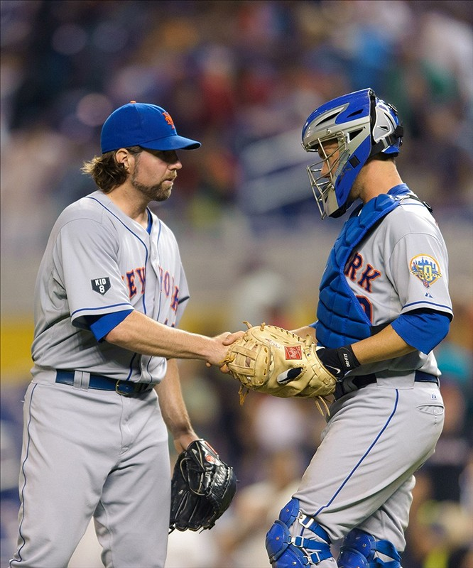 Davis Provides The Pop, Dickey Brings The Sizzle, Mets Hook The Marlins 3-0