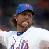 R.A. Dickey Wins 2012 Branch Rickey Award