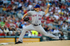 Jonathon Niese made the first-place Nats look like a Little League team with his dominating performance on Saturday.