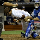 Dickey Denied 15th Win as Ball and Win Slips Out Of Thole's Hand In Mets 3-1 Loss