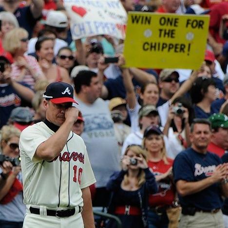 Medlen Dominant As Chipper's Braves Edge Mets One Last Time 6-2