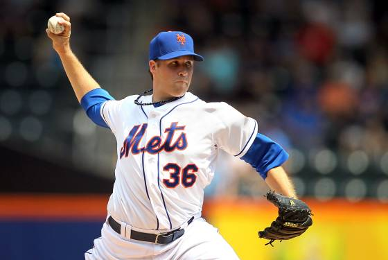 Mets Recall RHP Collin McHugh For Today's Start Against St. Louis