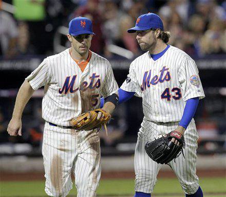 Mets Are Shopping Dickey, But Not Wright