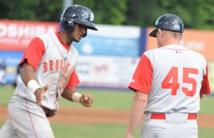 Eudy Pina's solo home run only highlight in Cyclones 8-1 loss.