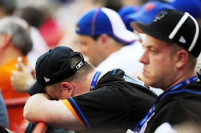 METS FANS STRESSED SAD