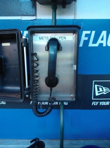 bullpen phone - Photo by Clayton Collier