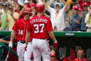 Even with these two young phenoms, the Nats are still hovering around .500.