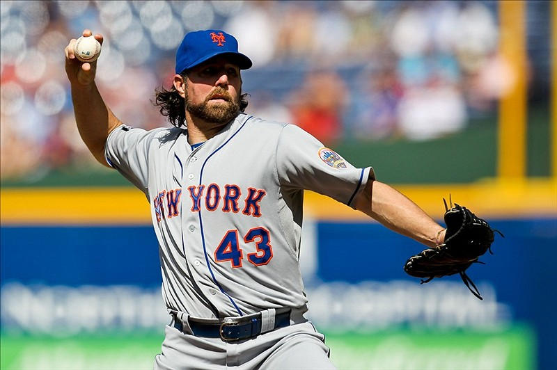 Sweet Music! Dickey Is First To 18 Wins!