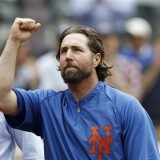 Dickey On Connection With Fans, Post Game Comments, Watch His 13 K's,