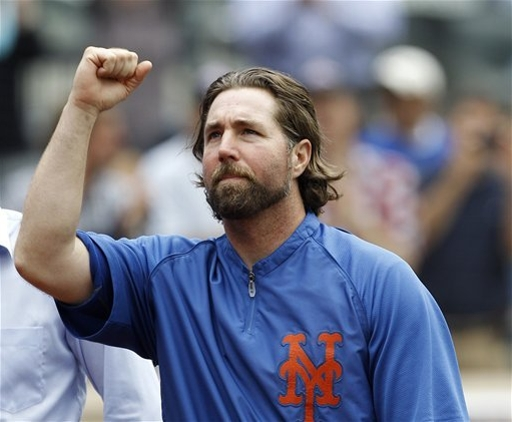 Regardless of the Cy Young, R.A Dickey is Inspirational