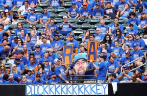 Mets fans make it clear who their choice for the NL Cy Young award is