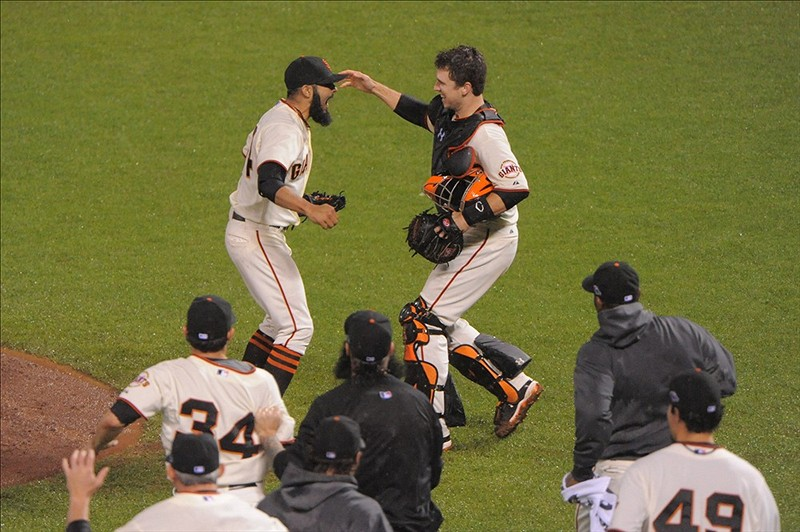 Giants Stun the Cardinals 9-0 and Advance to the World Series