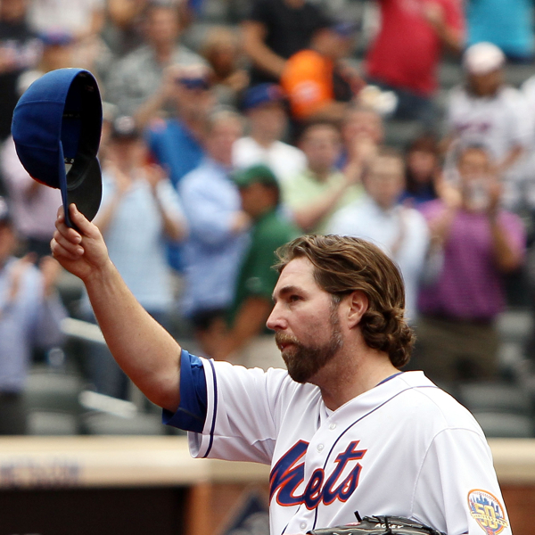 dickey wins number 20