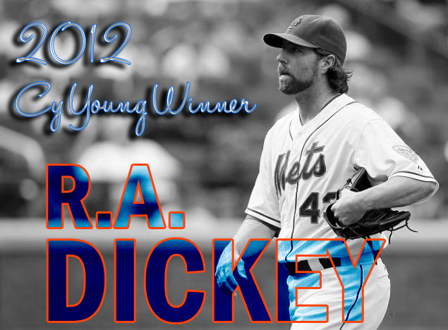 It's Dickey! Mets Knuckleballer Wins Cy Young!