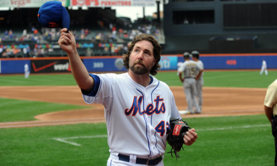 Signs Indicating R.A. Dickey Will Be Dealt