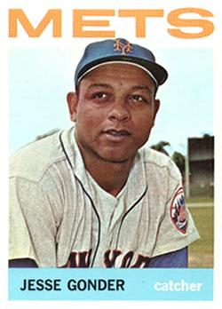 Old Time Mets: Jesse Gonder, C