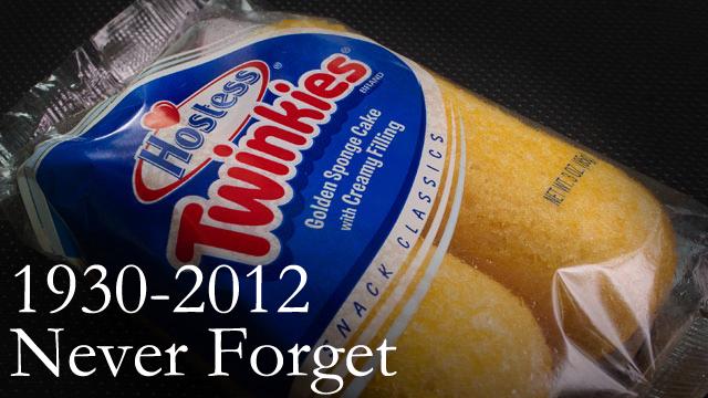 twinkies 1930-2012