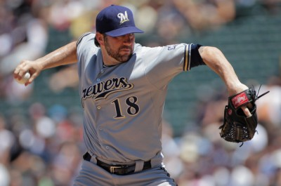 Shaun+Marcum+Milwaukee+Brewers+v+Colorado+cphK8DYS2Swl