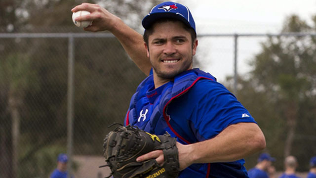 Travis d'Arnaud jumps to the top of the Mets prospect list..
